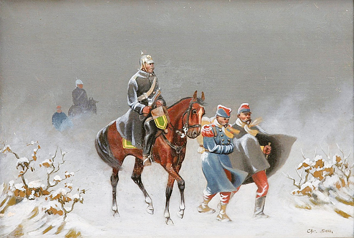 Soldiers in the snow II