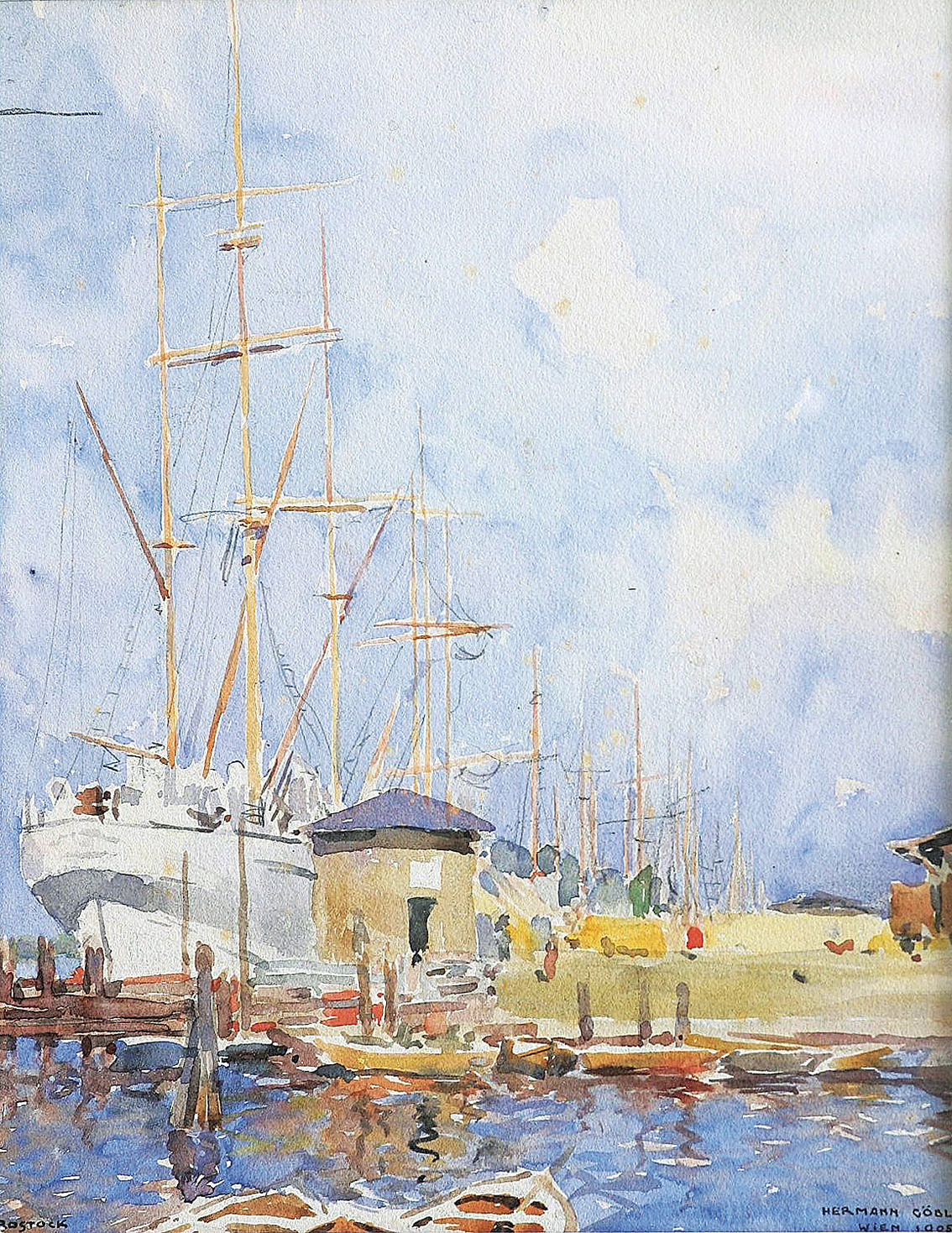 """Hedgehafen in Rostock"""