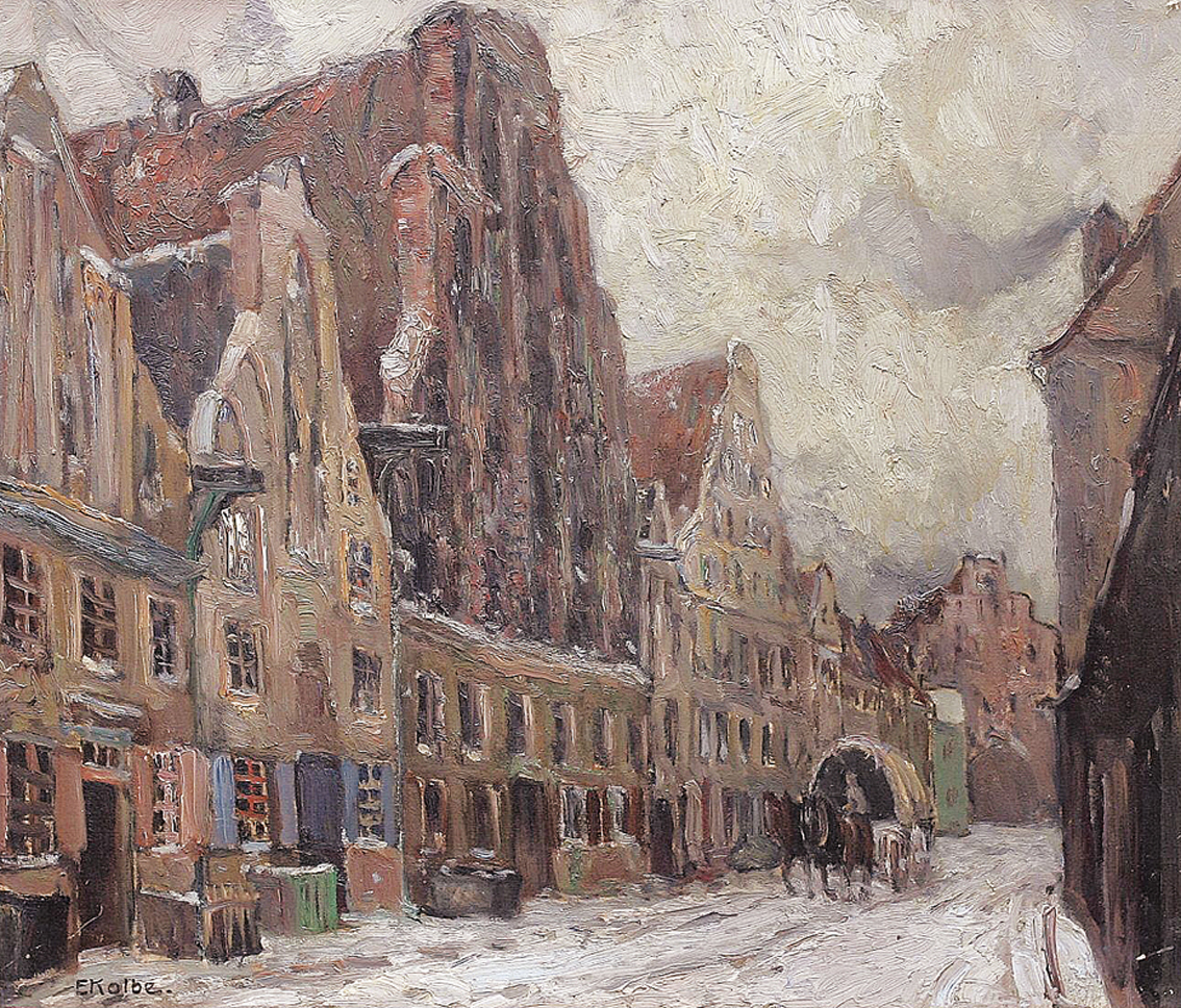 """Snow in Stralsund"""