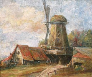""" View of a Windmill"""