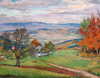 """A View in the Valley (Hain)"""
