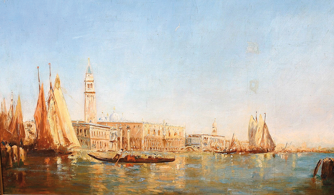 View of the Palazzo Ducale in Venice