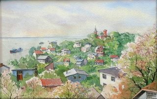 A view of Blankenese