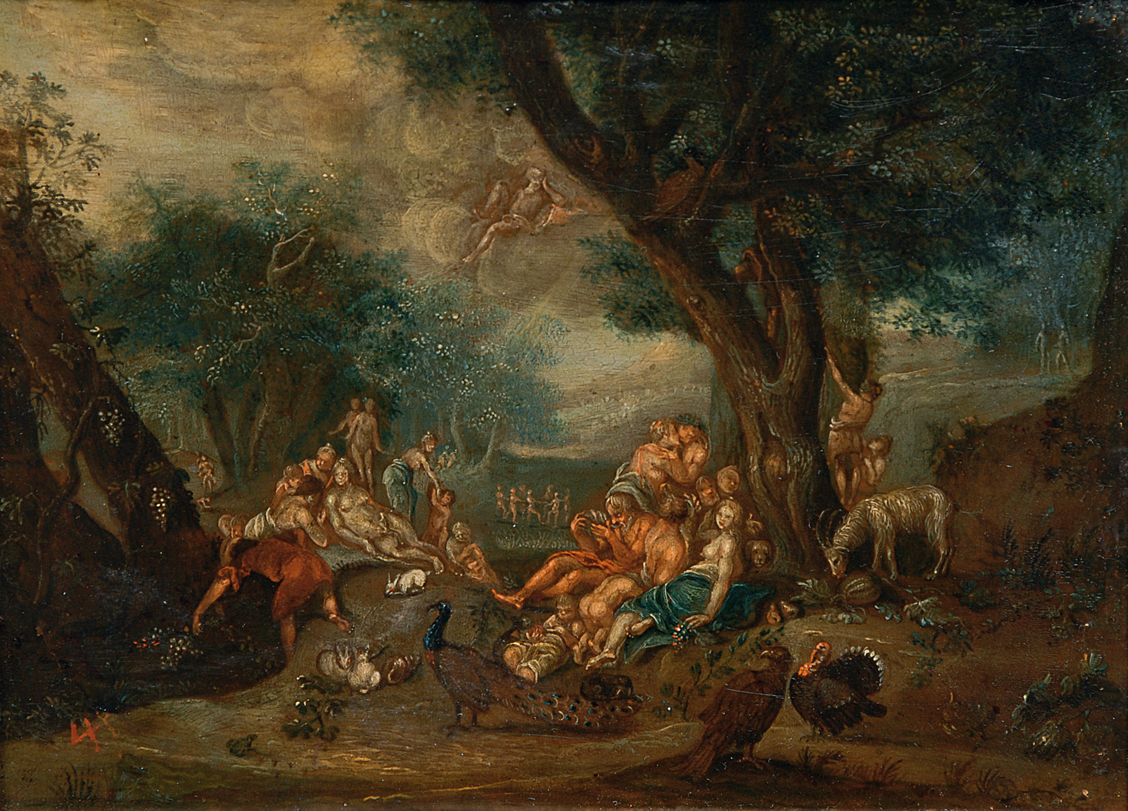 A bacchanalia with animals