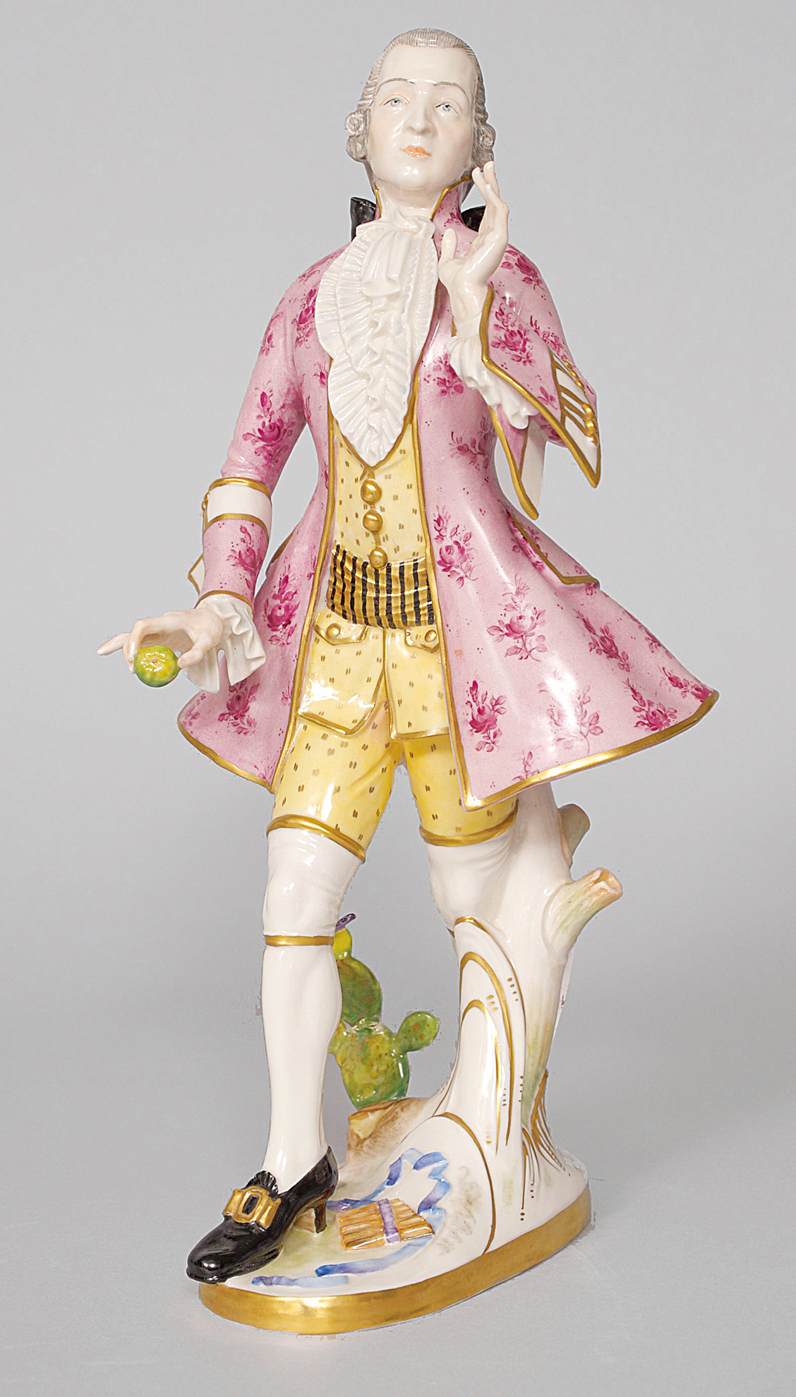 A large figure of Mozart