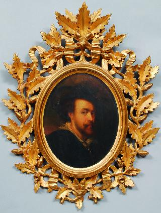 A copy after the self portrait of Rubens at Windsor castle