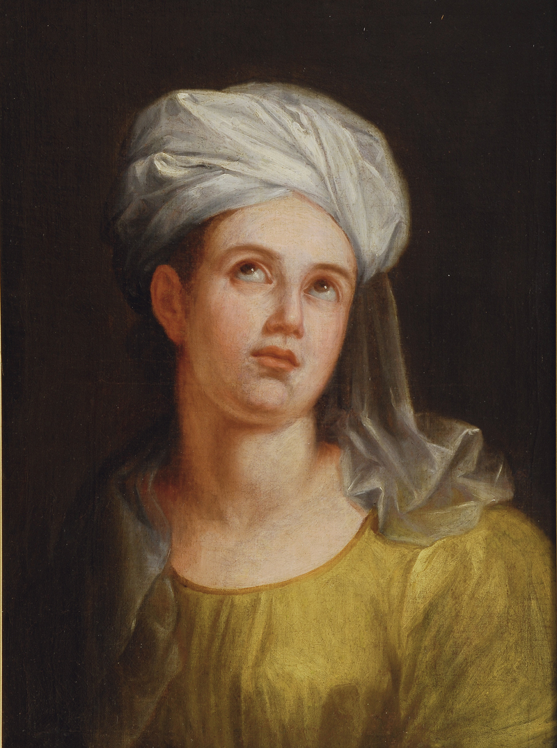 Young Woman with Turban