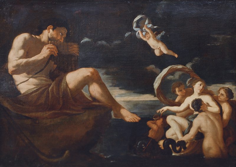 Galatea and Polyphemus