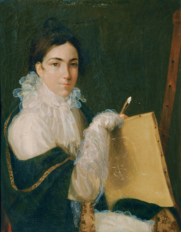 Self-Portrait of the Young Artist