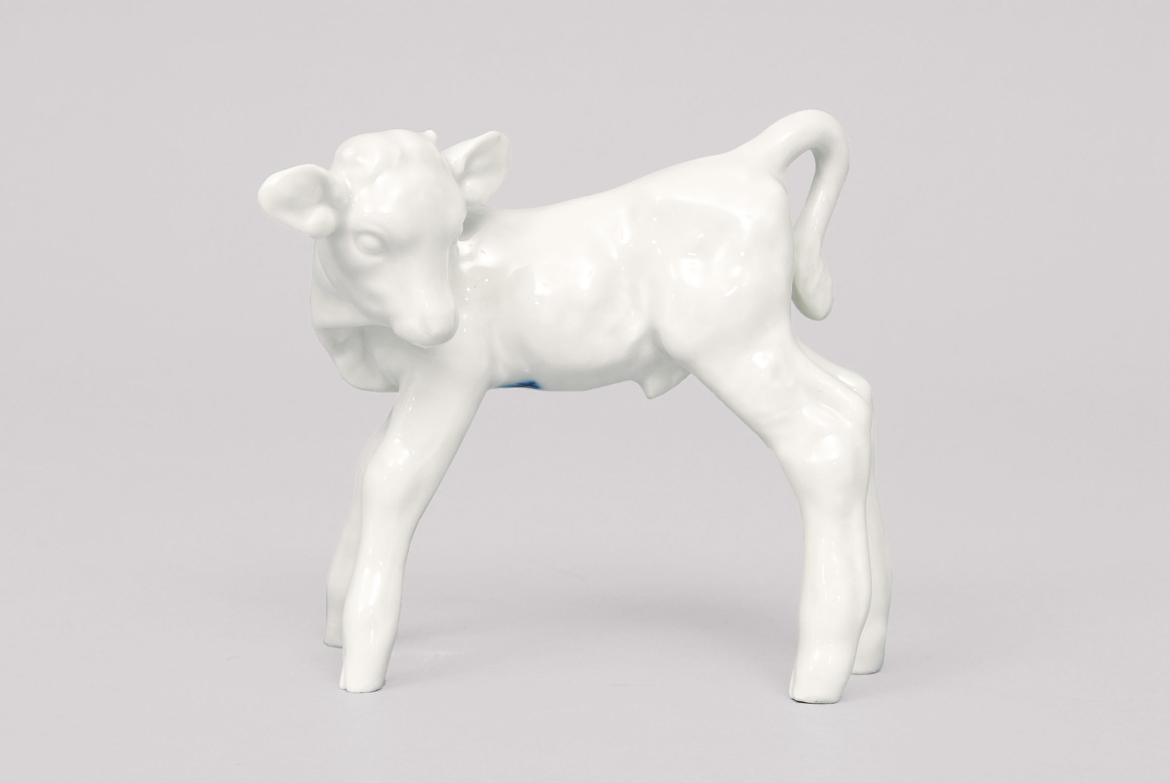 A small calf figurine