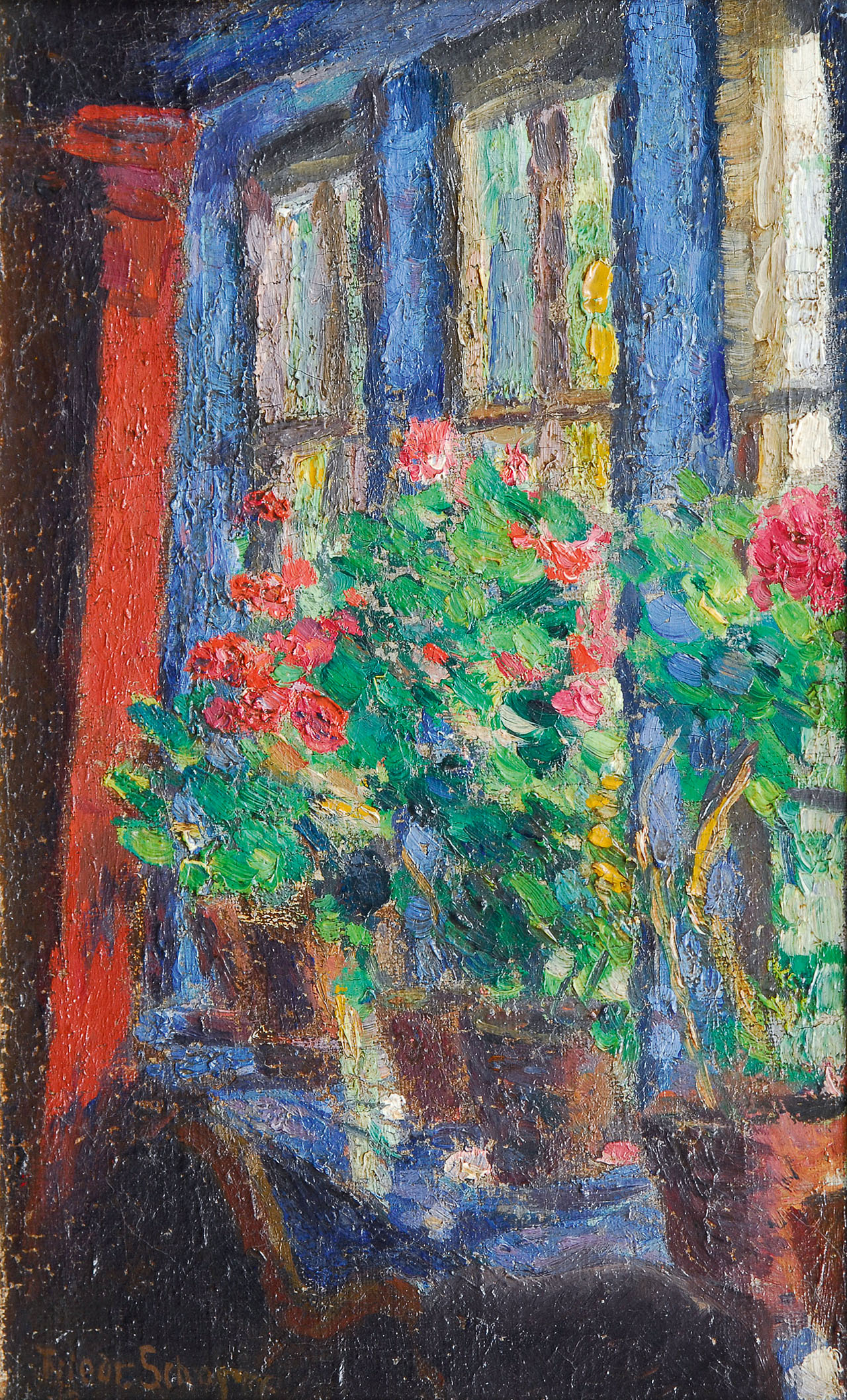Flowers at the Window