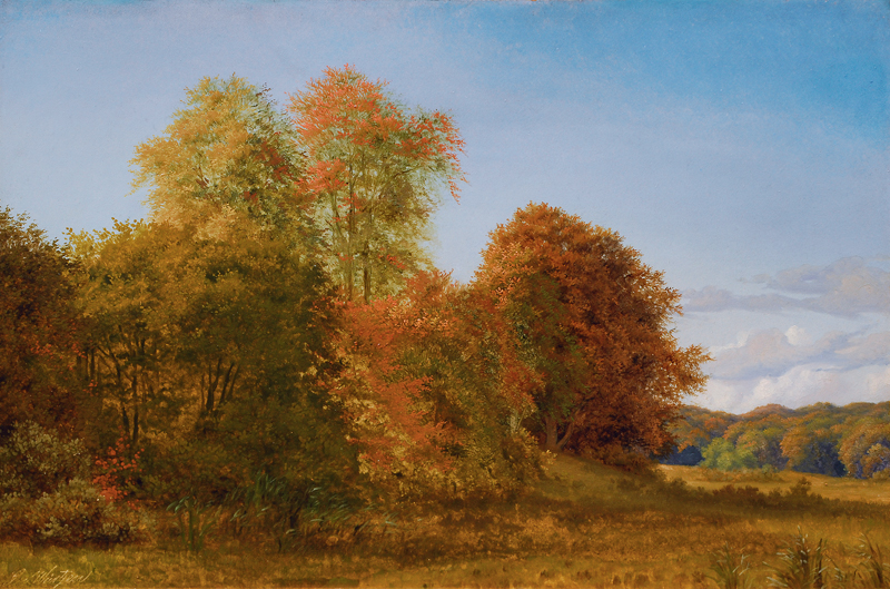 A Landscape in Late Summer