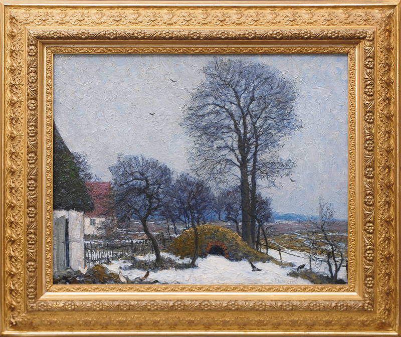 Winterly Landscape in Pomerania