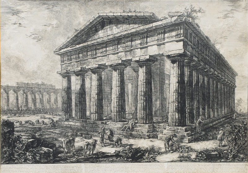 The Temple of Neptun