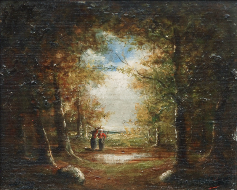 In the Forest of Fontainebleau