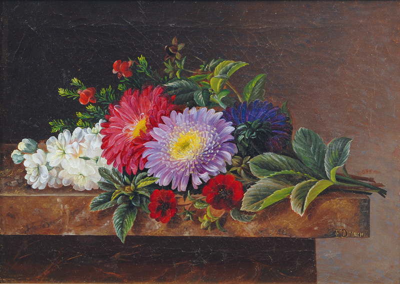Floral Still Life with Asters