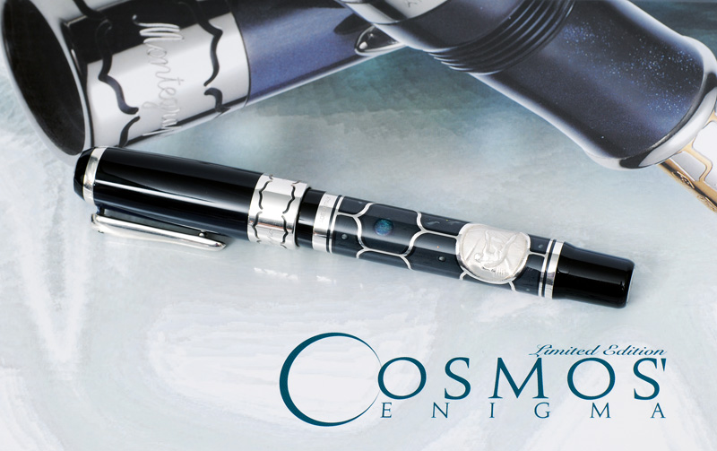 "A limited ball pen ""Cosmos Enigma"" by Montegrappa"