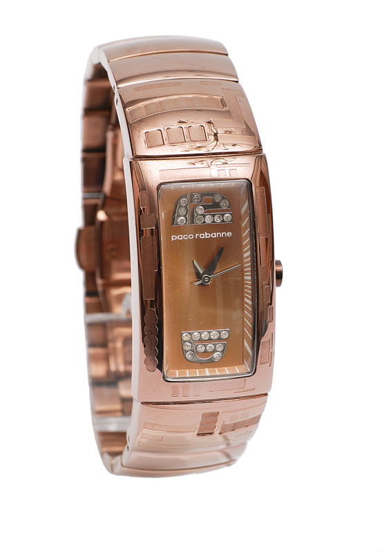 A wrist watch by Paco Rabanne