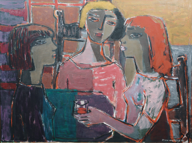 Three Woman in Conversation