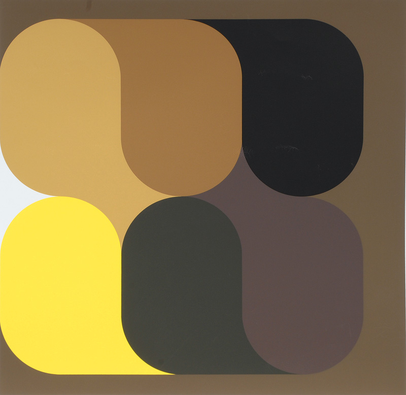 Constructivist Abstraction in Yellow-Brown