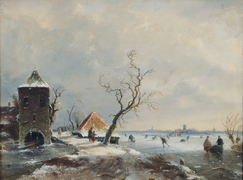 Winterly Dutch Landscape