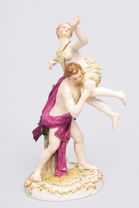 "A small figurien ""The Rape of the Sabine Women"""