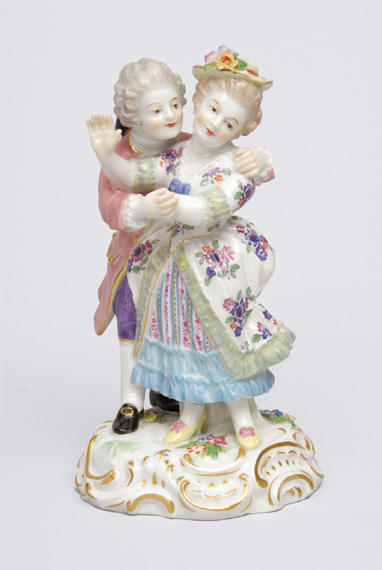 "A figurine group ""Lovers"""