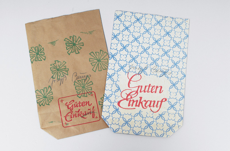 A Pair of GDR Paper Bags