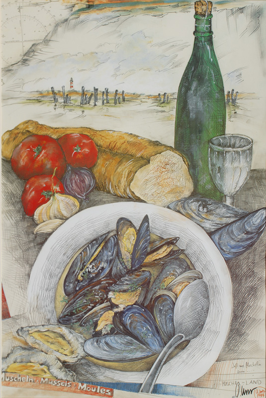 "Let""s eat Mussels"