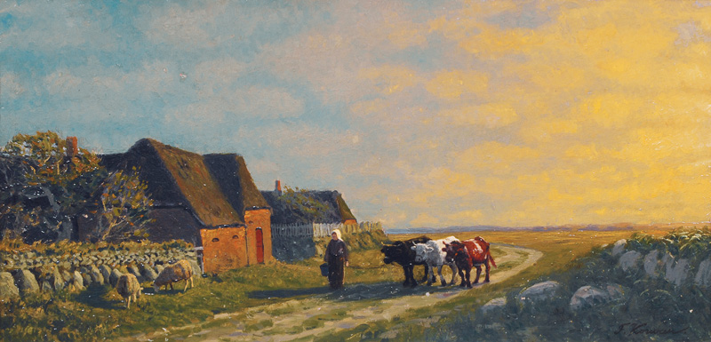 Evening on Sylt