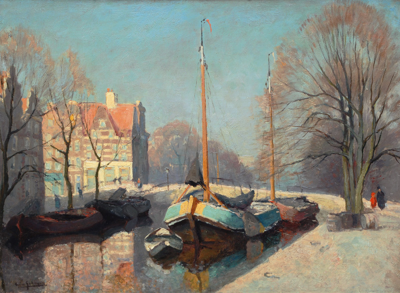 Boats on a Canal