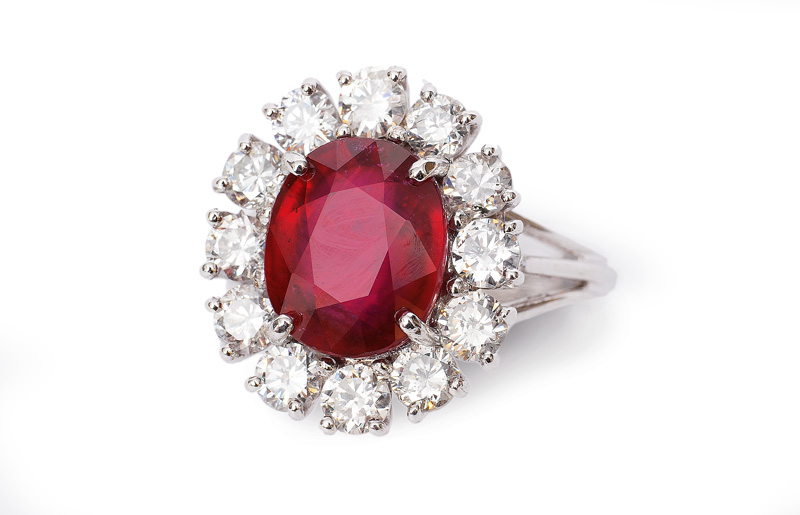 A ruby-ring