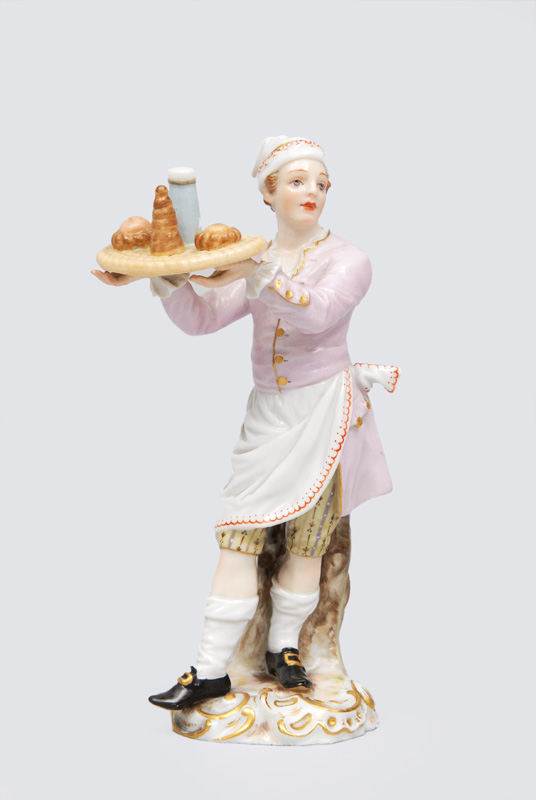 "A figurine ""Confectioner"" of serial ""Parisian town crier"""