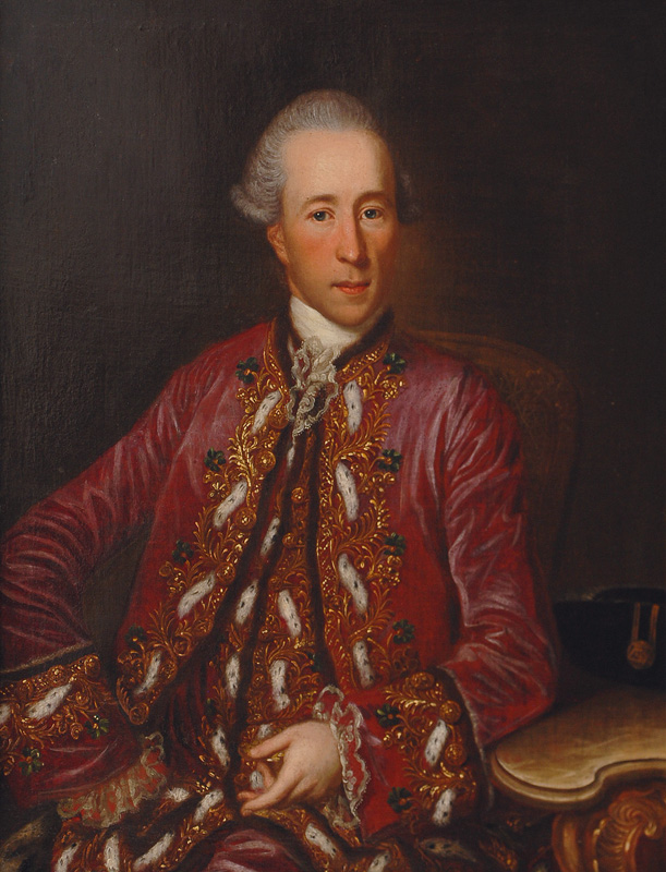Portrait of a Nobleman in an ermine decorated Coat