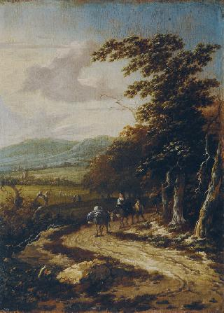 Extensive Landscape with Travellers
