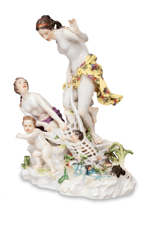 "A large figure ""The catch of Triton"""