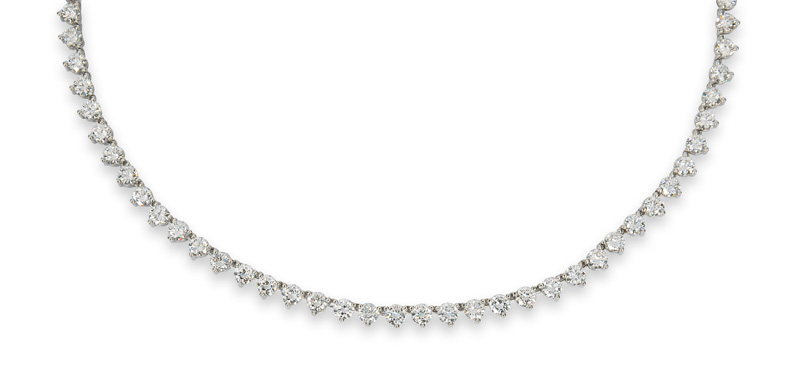 A highquality diamond necklace