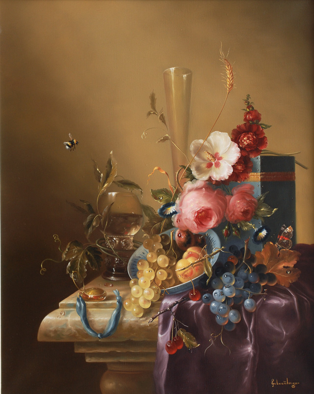 Still Life with Flowers and Goblet