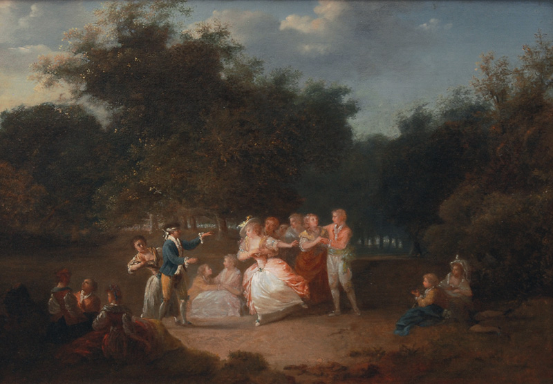 Gallant Party in a Park