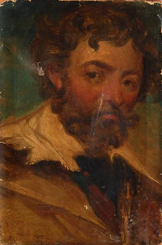 Study of a bearded young Man