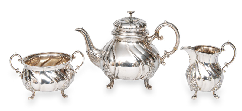 A coffee service in the style of Baroque