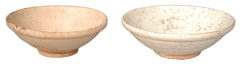 A set of two song bowls
