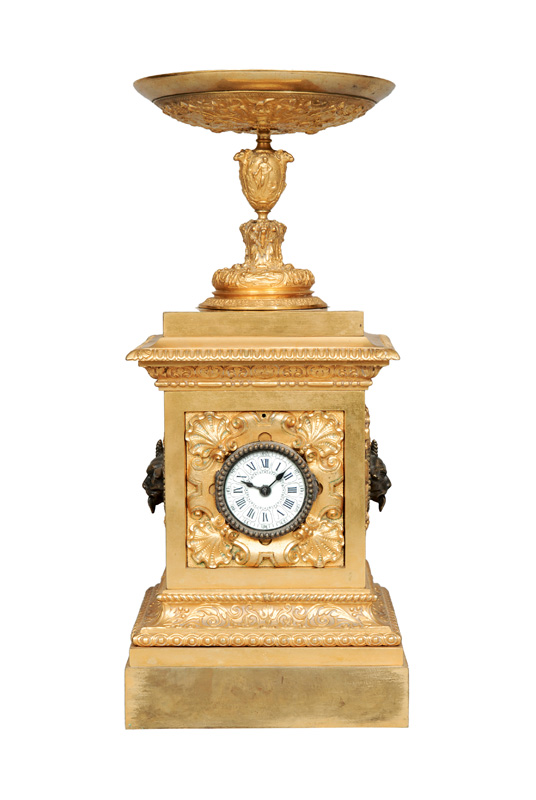 A french Louis-Philippe mantel clock by Auguste Pointaux