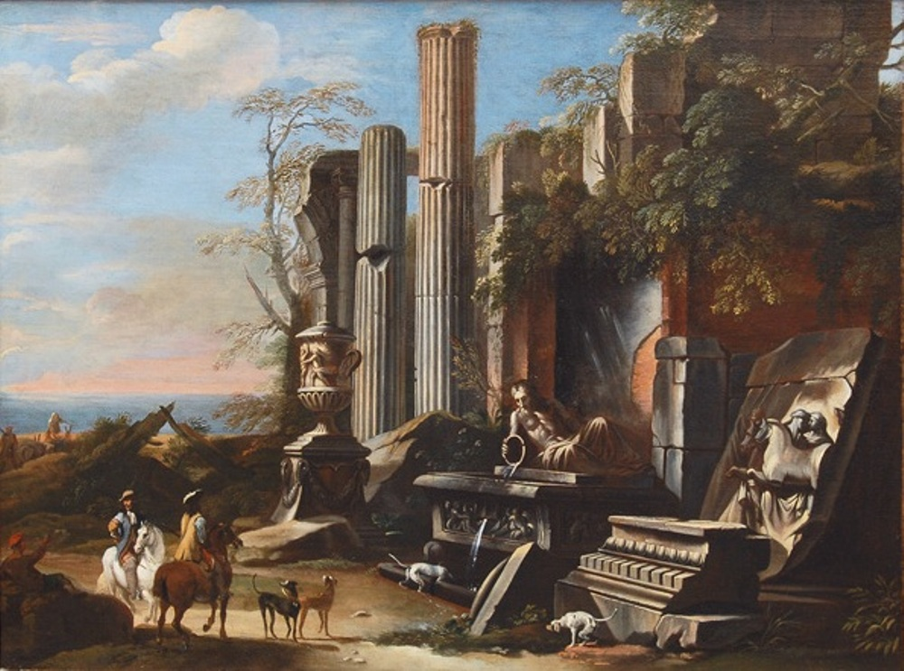 Ideal Landscape with antique Ruins