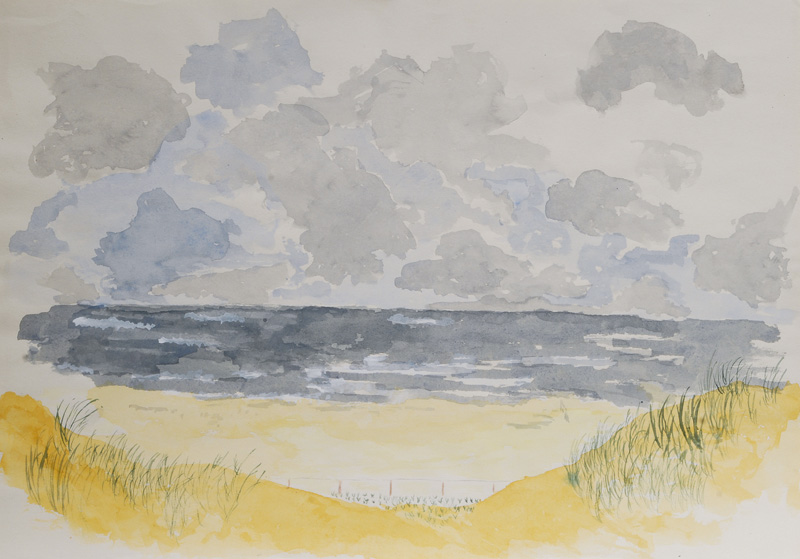 7 Watercolours - Sylt Impressions