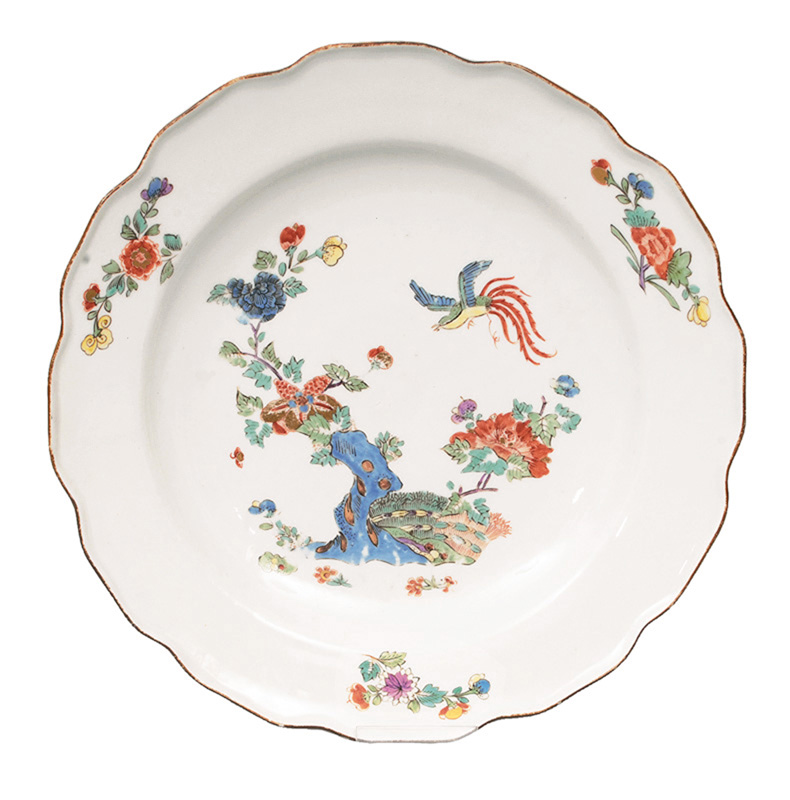 An early Kakiemon plate
