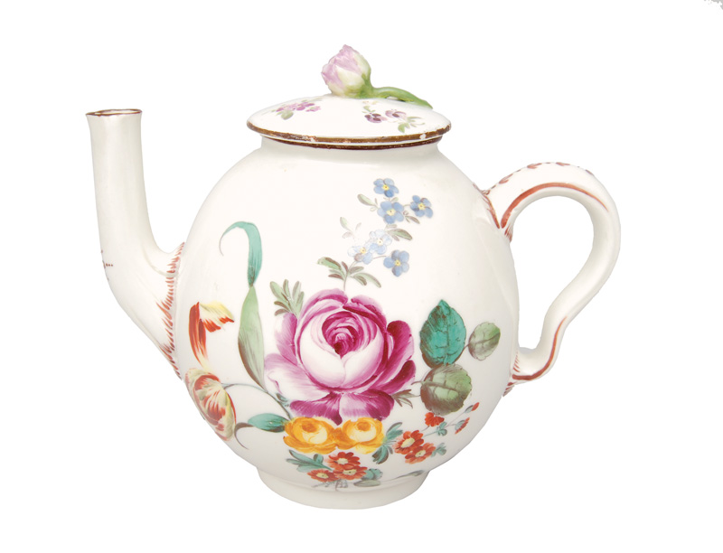 A small jug with flower painting