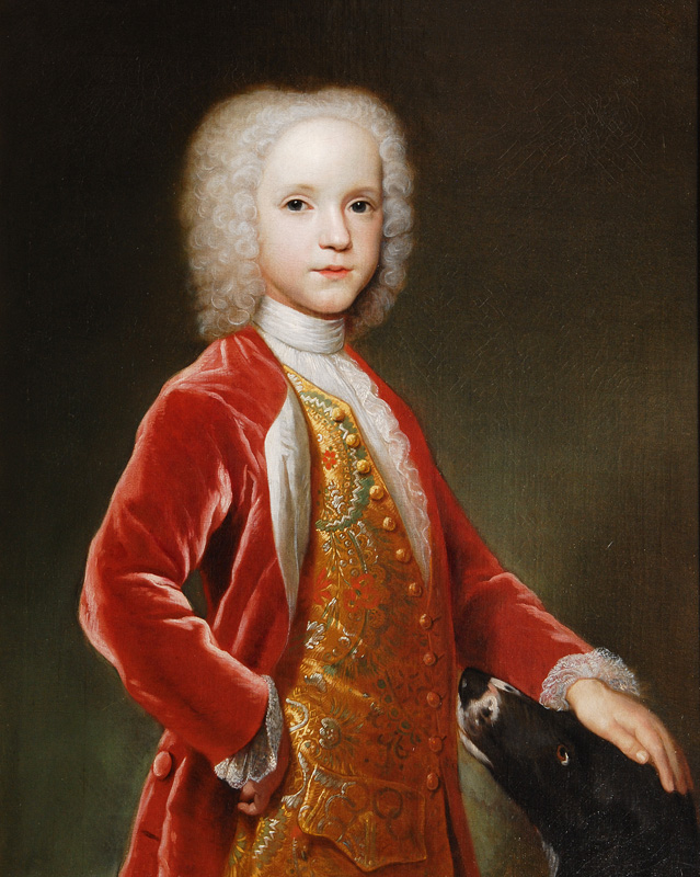 Portrait of a noble Boy, traditionally identified as George Bubb, Lord Dodington