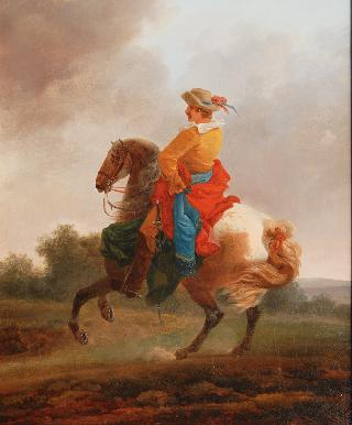 A Gentleman on Horseback