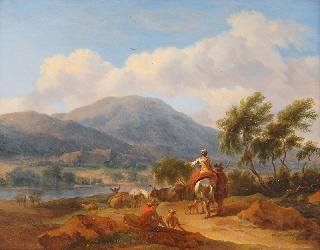 Italian Landscape with Companion Piece